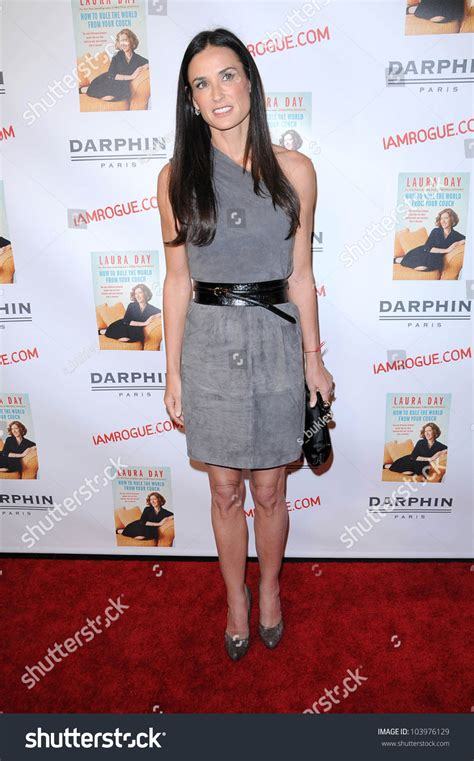 how to rule the world from your couch demi moore at the book launch party for how to rule the