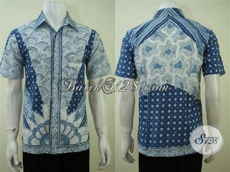 Jual Baju Buat jual baju baitk premium harga minimum kemeja batik tulis lengan pendek pas buat kerja dan pesta