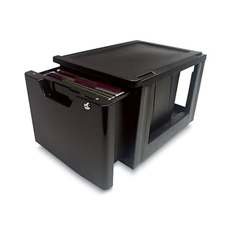 iris lockable storage drawer black by office depot officemax