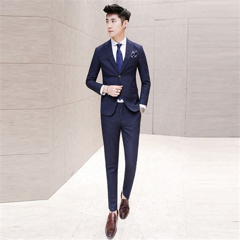 Blazer Style Navy Fit Blazer 82 free shipping navy blue suit new style groom wedding suit slim fit blazer jacket vest