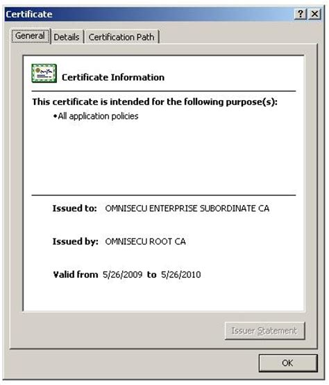 California Certificates Record How To Submit Certificate Request To Root Ca
