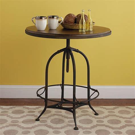 industrial rustic bistro table nightstands and bedside
