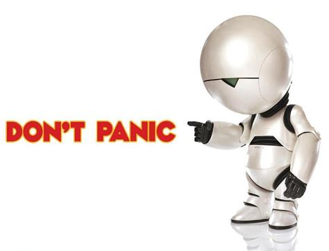 marvin the paranoid android don t panic coyotes beat caps 6 5 russian machine never breaks