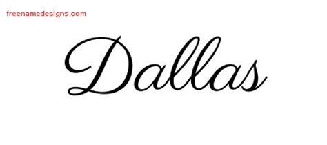 dallas archives free name designs