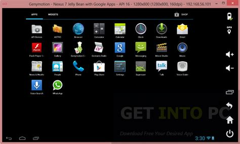 roms for android genymotion android emulator free