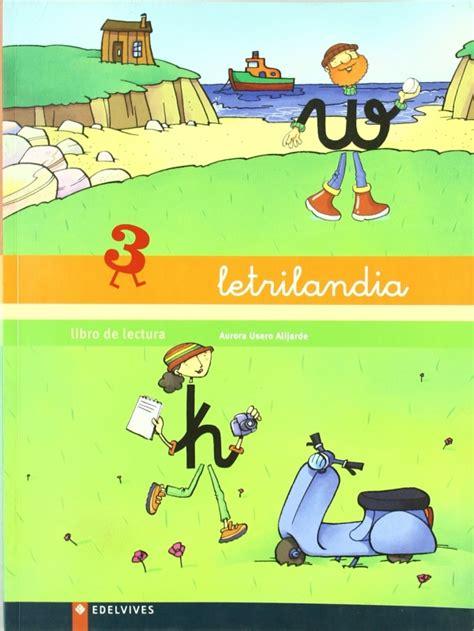 letrilandia libro de lectura 3 aurora usero alijarde espaciologope