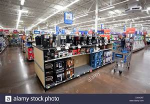 Stores In Usa Appliance Department At A Walmart Store In Miami Florida