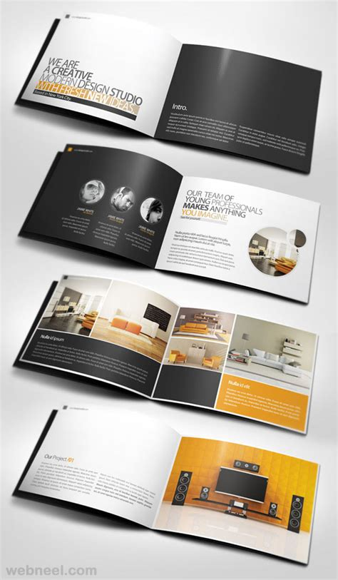 brochure designs best 50 creative corporate brochure design ideas for your