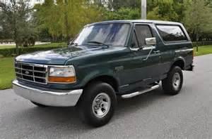 sell used 1996 95 94 93 92 ford bronco eddie bauer xlt 4x4