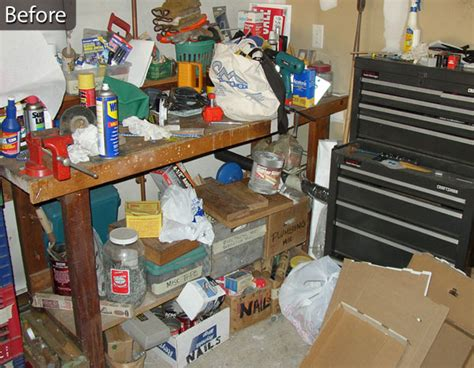 garage organizing service in addition to reorganization our client wanted us to