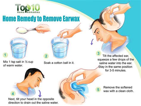 how to do cleaning home remedies to remove earwax top 10 home remedies