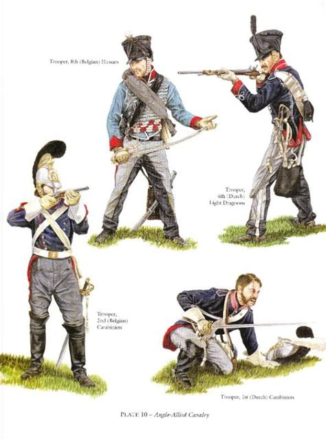 armchair generals 17 best images about dutch belgian dragoons napoleonic on pinterest nassau