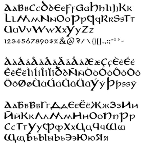 tattoo fonts elvish elvish tattoos lawas