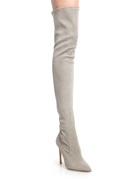 ralph collection tasita stretch suede the knee