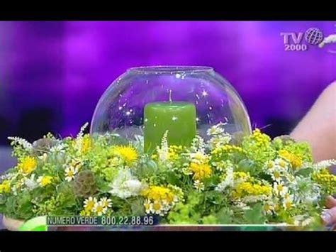 centrotavola fiori e candele come realizzare un centrotavola con una ghirlanda fiori e