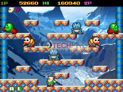 snow bros game for pc free download full version snow bros collection part 1 2 3 game for pc full version