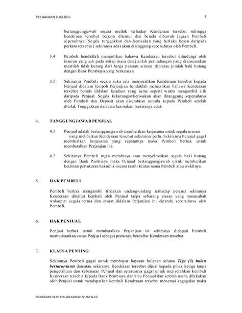 68 contoh surat surat perjanjian jual beli rumah contoh surat jual