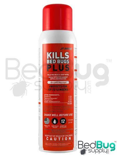 residual bed bug spray jt eaton kills bed bugs plus spray aerosol