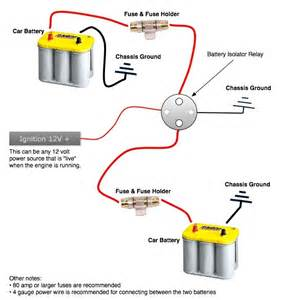 wiring diagram dual battery isolator wiring diagram battery isolator wiring diagram 200