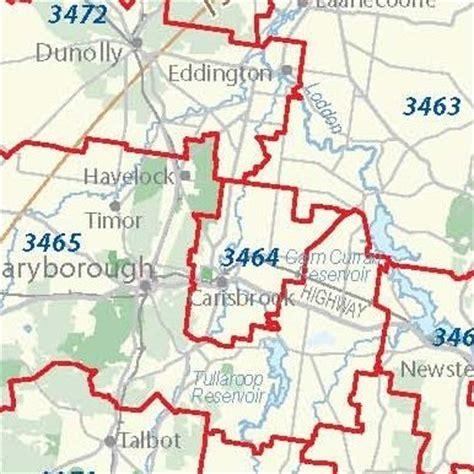 melbourne map centre victoria state