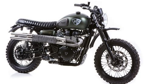 import motocross bikes triumph scrambler the dirt bike by british customs muted