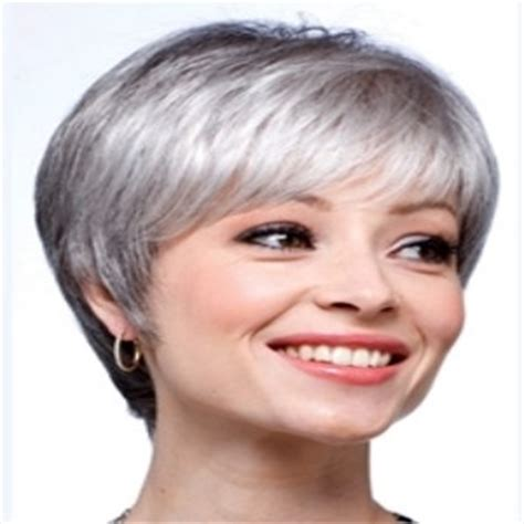 hairstyles for thin gray hair 5 elegant and short hairstyles for gray hair gray