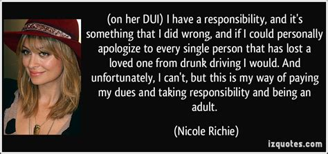 Richie Could Felony Charges In Dui by On Dui I A Responsibility And It S Something