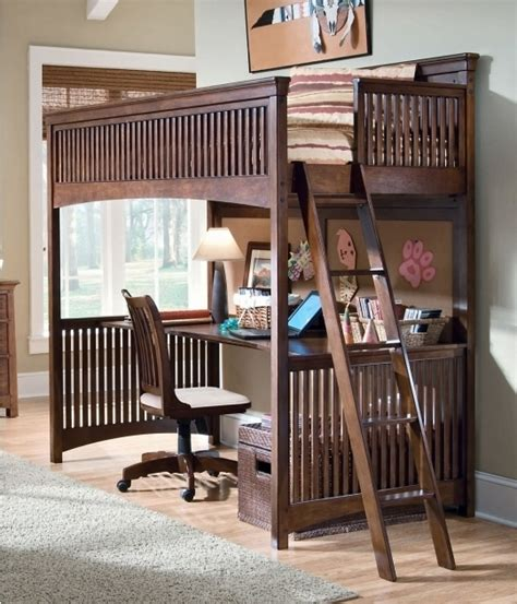 bunk bed with desk cheap bed headboards