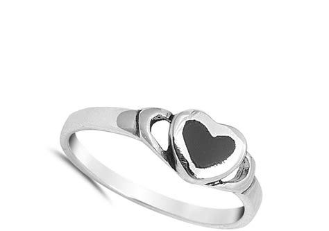 promise ring new 925 sterling silver band ebay
