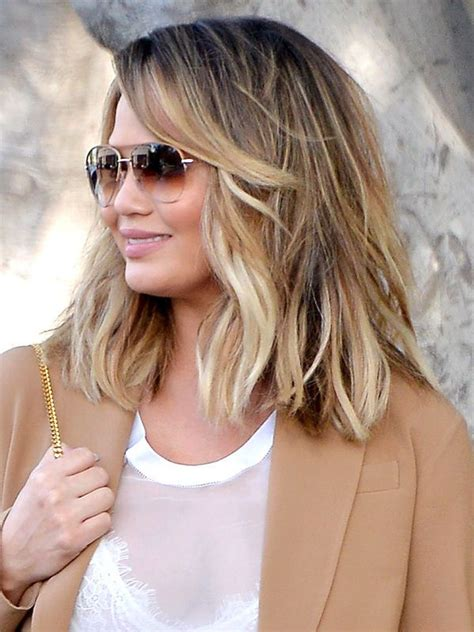 wavy textured lob celeb inspired haircuts to try this summer summer