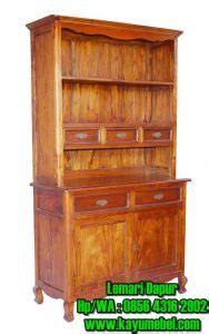 Lemari Dapur Dari Kayu lemari dapur kayu jati lemari dapur dari kayu jati berkualitas