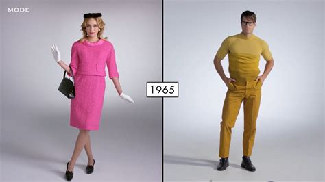 100 years of fashion video captures 100 years of fashion transformation