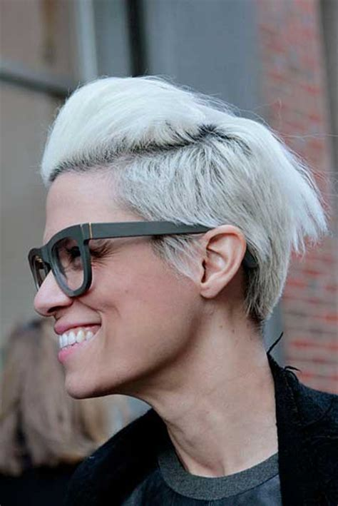 short white hair 2013 hair colors for short hair short hairstyles 2017