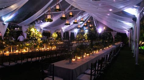 how to light up a backyard party 9 great party tent lighting ideas for outdoor events