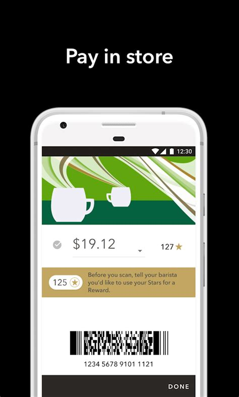 starbucks app android starbucks android apps on play