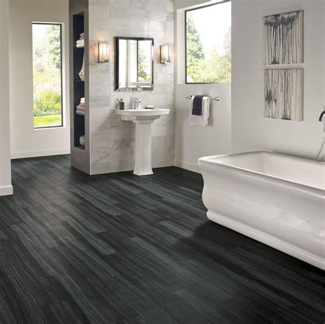 black laminate flooring for bathrooms bathroom flooring guide armstrong flooring residential