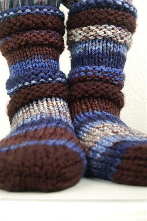 knitting pattern slipper socks knitting pattern slipper socks patterns gallery