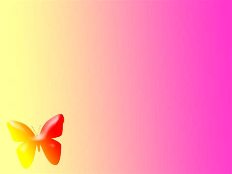 template ppt kartun free download pink butterfly backgrounds background untuk blog