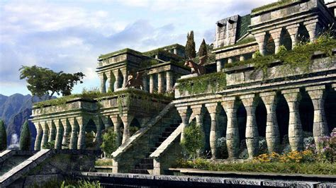 What Are The Hanging Gardens Of Babylon by Hanging Gardens Of Babylon Wallpapers Wallpaper Cave