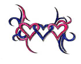 three hearts clipart best
