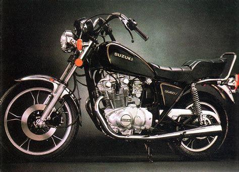 1982 Suzuki Gs450l Suzuki Gs450l Model History