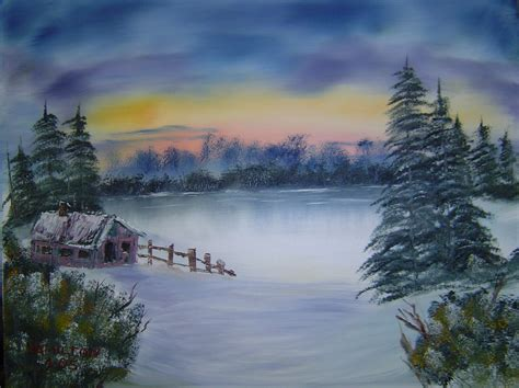 bob ross painting log cabins pbs winter schedule autos post