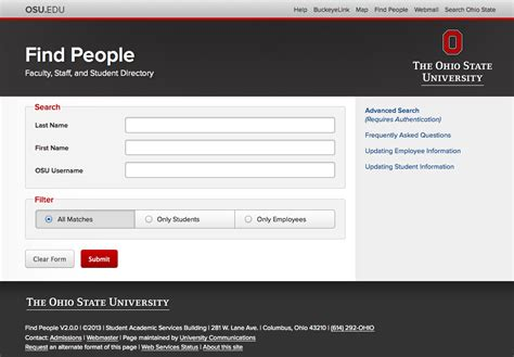 New Addresses Search New Look And Feel For Quot Find Quot Office Of The Cio