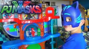 19 63 mb pj masks toy headquarters luna attack hq playset review grbbr