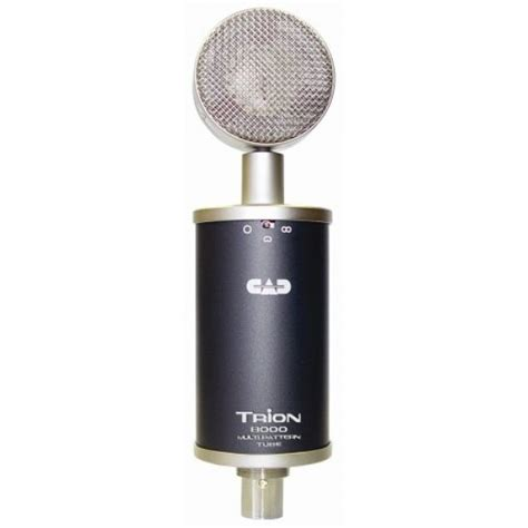 capacitor microphone principle cad audio trion 8000 large diaphragm multi pattern condenser microphone