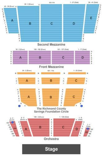 st theater seating plan don mclean firefall tickets st george theatre oct 6