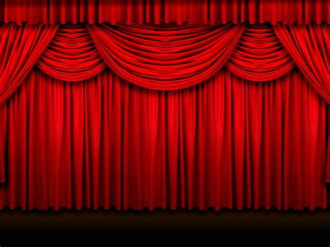 Free Coloring Pages Of Stage Curtains