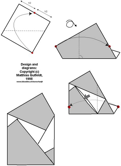 Note Folding Origami - creative ways to fold paper notes ehow