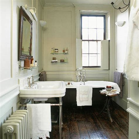 period bathroom ideas black and white tile clawfoot tub guide to edwardian