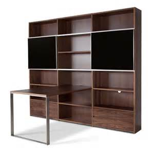 Small Desk Shelving Unit Shelving Unit Design With Desk For Small Home Office